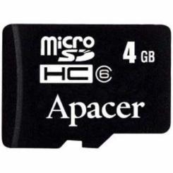 Apacer Mobile microSDHC 4Gb - фото 2