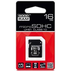 GOODRAM microSD UHS 1 Class 10 16Gb - фото 2
