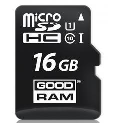GOODRAM microSD UHS 1 Class 10 16Gb - фото 1