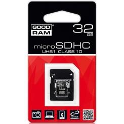 GOODRAM microSD UHS 1 Class 10 32Gb - фото 2