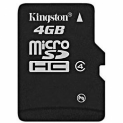 Kingston microSDHC Class 4 4Gb - фото 2