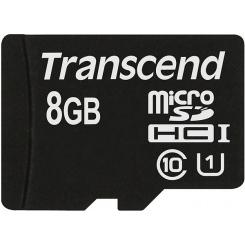 Transcend microSDHC Class 10 8GB UHS-I - фото 2
