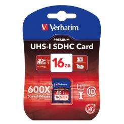 Verbatim SDHC Class 10 16GB UHS-I - фото 1
