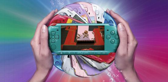 Новые цвета Sony PSP-3000