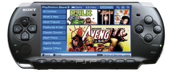 Комиксы для PSP