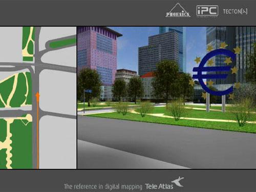 3D-карты в GPS