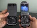 Смартфоны BlackBerry 9670, 9800 и 9300 на видео