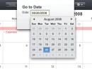 Apple представил бета-версию мобильного календаря MobileMe