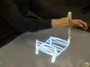 Beyond - устройство ввода, позволяющее рисовать 3D-рисунки на 2D-поверхности