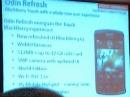 Учебные материалы по Storm 3: BlackBerry 6 и 512 МБ RAM