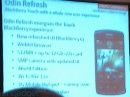 Смартфон BlackBerry Storm 3 - просто улучшенный тачфон, а не слайдер