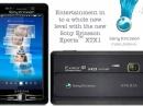 Sony Ericsson XPERIA XTX1 - концепт смартфона