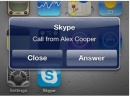 Обновленный Skype для iPhone будет поддерживать многозадачность