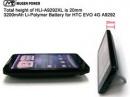 HTC EVO 4G получил новую батарею от Mugen
