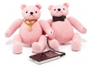 Динамики в форме розовых мишек от Juicy Couture