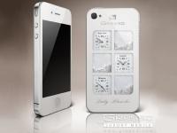 Gresso iPhone 4 Time Machine Lady Blanche – роскошный смартфон для настоящих леди