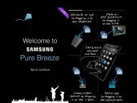 Samsung выпустила интерфейс Pure Breeze