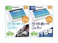 В Европе появились планшеты AndyPad и AndyPad Pro
