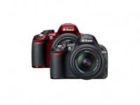 Nikon представляет D3100 в красном цвете