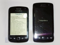 Смартфон BlackBerry Curve 9380 на «живых» фото