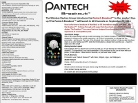 Pantech Breakout может появиться у Verizon 22 сентября