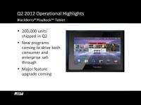 PlayBook OS v. 2.0 выйдет в следующем месяце