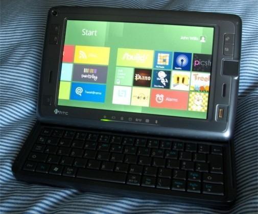 Windows 8 на смартфоне HTC Shift