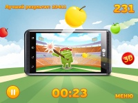 Вмажь по яблокам – и выиграй 3D-смартфон!