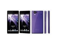 Sharp Aquos 102SH: Android-смартфон с 2-ядерным процессором и экраном HD LCD