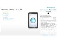 AT&T снижает стоимость Samsung Galaxy Tab до 99 долларов