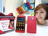 Samsung анонсировала розовый Galaxy S II