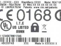 FCC одобрила неизвестный смартфон BlackBerry