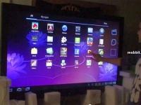 65-дюймовый «планшет» на Honeycomb
