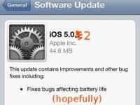 iOS 5.0.2 может появиться уже на следующей неделе