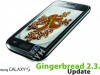Смартфон Samsung Galaxy S начал получать Android 2.3.5