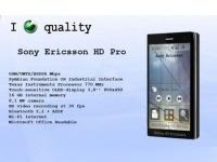 Sony Ericsson HD Pro – изящный концепт практичного смартфона