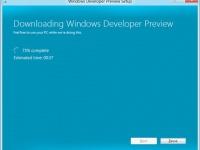 Microsoft обещает, что инсталляция Windows 8 будет выполняться за 11 кликов
