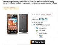 Samsung Galaxy Xcover S5690 доступен для предзаказа