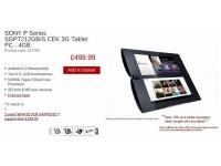 Двухэкранный планшет Sony Tablet P вышел в Европе