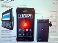 Опубликованы официальные спецификации Motorola Droid 4