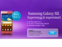 Розовый Samsung Galaxy S II появился в Швеции