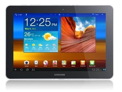 5. Samsung Galaxy Tab 10.1