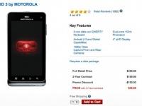 Motorola DROID 3 теперь стоит 49 долларов