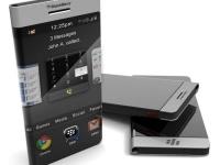 Футуристический смартфон 2012 BlackBerry