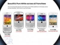 Новые BlackBerry – белые BlackBerry