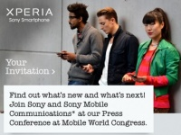 Sony раздает приглашения на MWC 2012