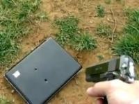 Отец расстрелял ноутбук дочери за сообщение на Facebook