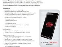 Для Droid Bionic выпущено обновление