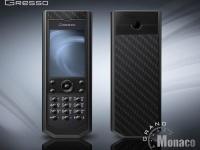 Gresso выпустила люксовый телефон Pure Black линейки Grand Monaco