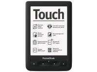 PocketBook Touch – первый ридер PocketBook с сенсорным экраном и «мультитач»